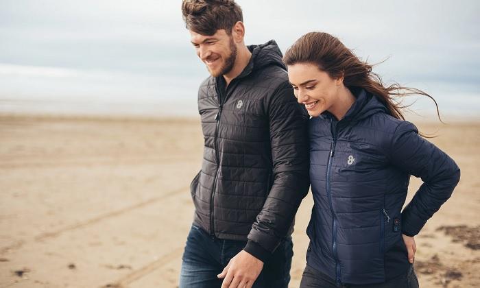 Куртка с подогревом внешне неотличима от обычных моделей. /Фото: cdn.shopify.com