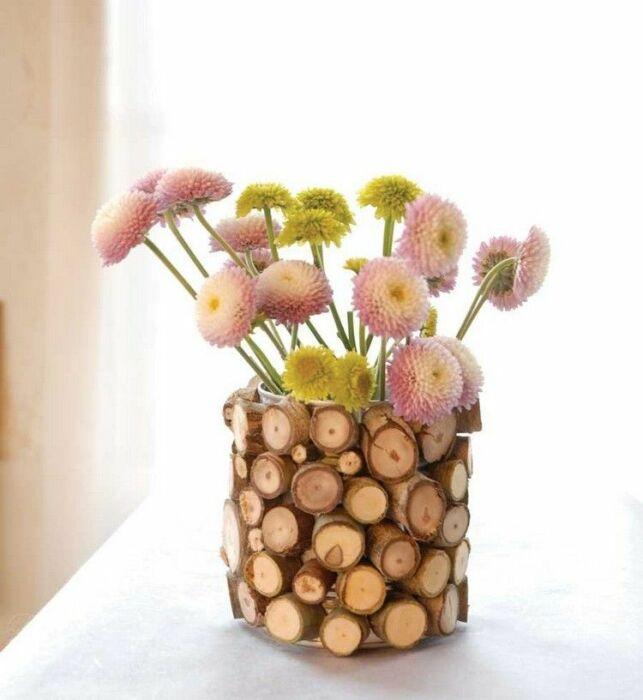 Необычно и красиво, привлекает к себе внимание. /Фото: i.pinimg.com