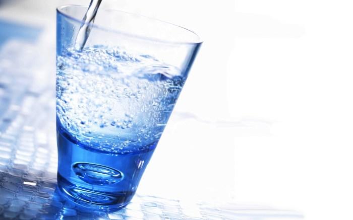 Минеральная вода без лимона — для украшений. /Фото: xcook.info