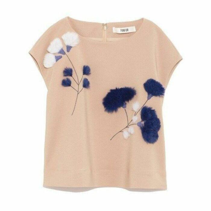 Красивое и нежное решение для оформления одежды, которая уже надоела. /Фото: i.pinimg.com