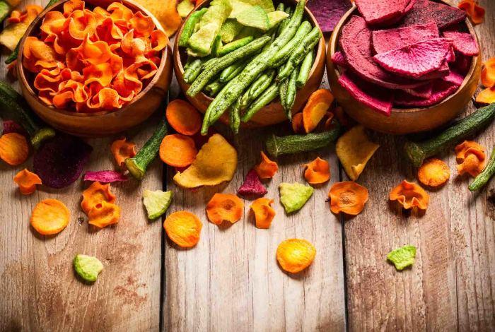 Сушеные овощи – экологическая альтернатива соли. /Фото: food.jjsea.com