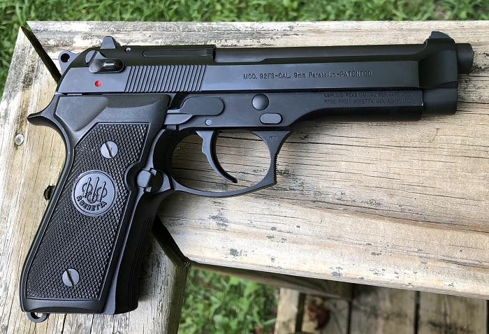 Beretta 92FS – один из самых массовых и известных пистолетов. /Фото: i.imgur.com