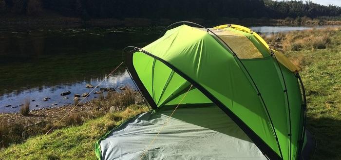 Купольная конструкция Nuno 2 позволяет регулировать открытость палатки. /Фото: static.wixstatic.com