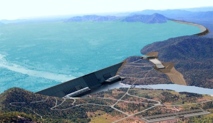 Водохранилище GERD называют «резервуаром тысячелетия». /Фото: brusselstimes.com
