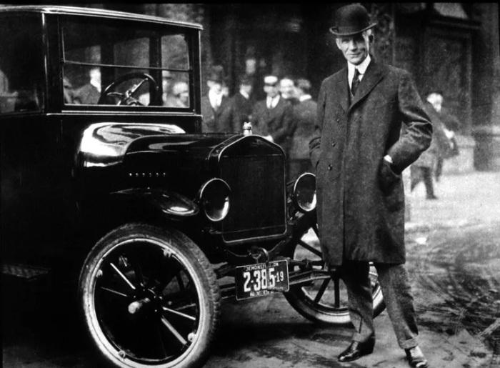 Генри Форд практически не рекламировал Ford Model T. /Фото: thoughtco.com