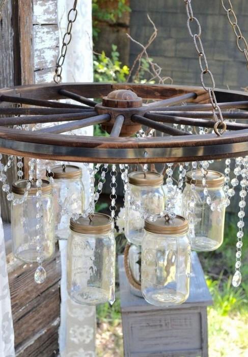 Пара простых деталей, и необычный декор для дачи будет готов. /Фото: i1.wp.com