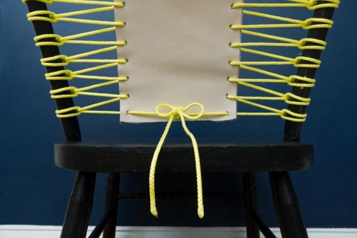 Простое плетение добавит стулу креативности и позволит даже в деталях сочетать его с интерьером. /Фото: myinteriordesign.it