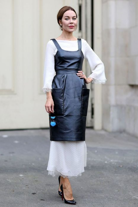 Еще один пример многослойности в чистом виде — модный и оригинальный образ. /Фото: img.uduba.com