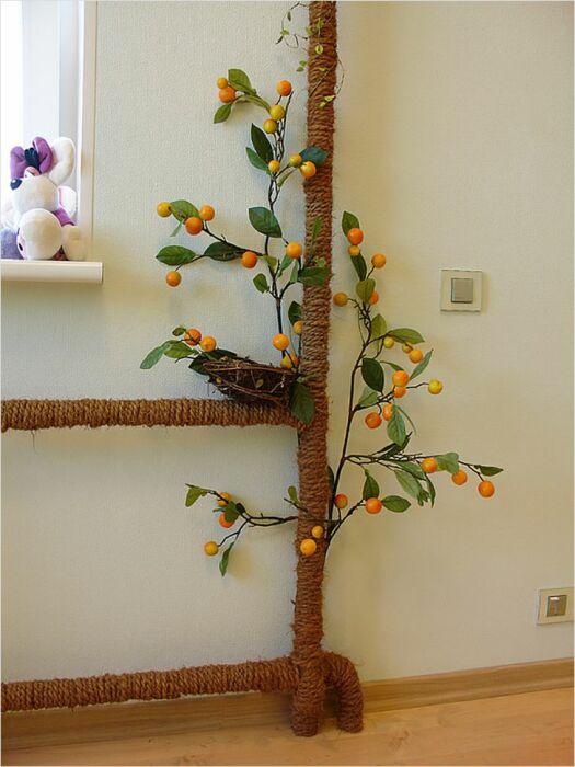 Некрасивые объекты квартиры можно превратить в украшение интерьера. /Фото: twit.su