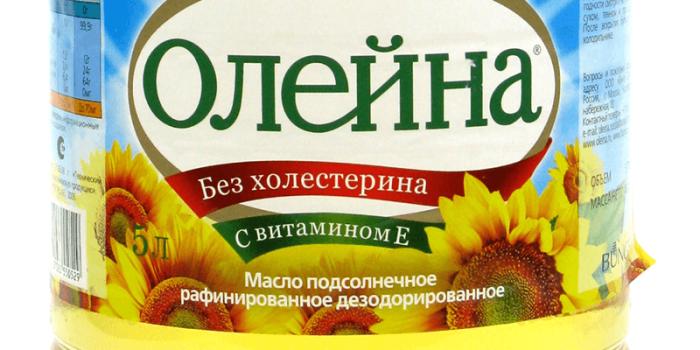 Надпись «без холестерина» на этикетке бутылки с растительным маслом не более чем маркетинговый ход. /Фото: vtopetop.ru