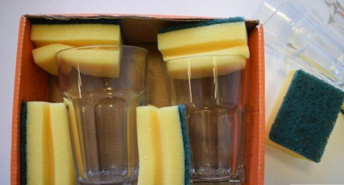 С таким дополнением посуда точно останется целой. /Фото: kaksekonomit.com