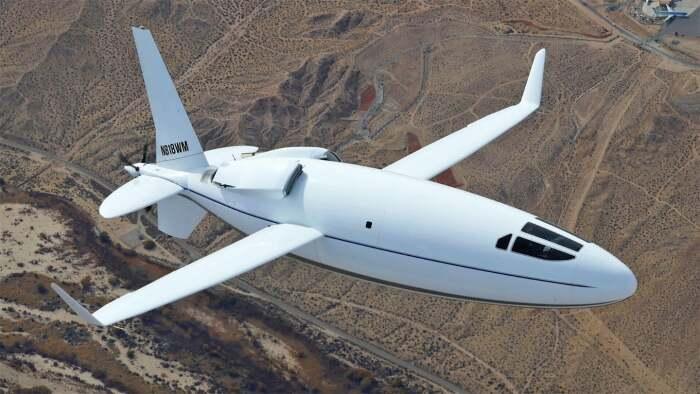 Прототип пока без иллюминаторов, но разработчики обещают, что окна не изменят аэродинамику. /Фото: thedrive.com