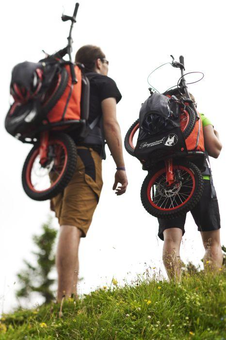 Велосипед в собранном виде. /Фото: i.pinimg.com