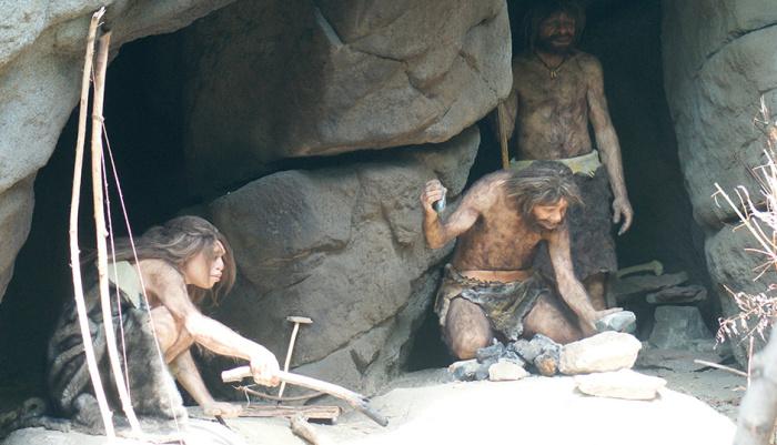 Пещерные люди никогда не жили в пещерах. /Фото: creation.com