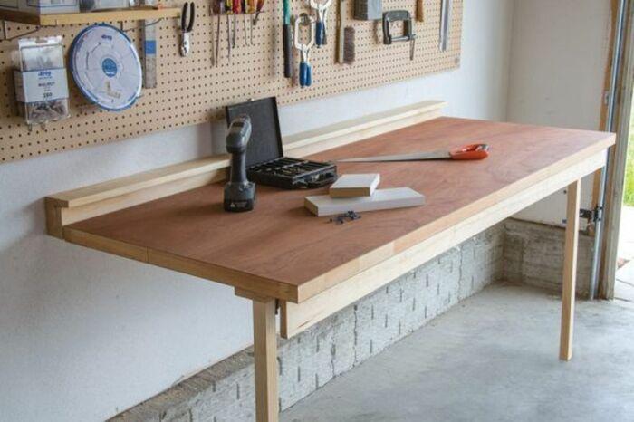 Оптимальное решение для рабочего места в помещении с ограниченным свободным пространством. /Фото: i2.wp.com