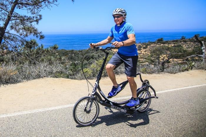ElliptiGO – удачная комбинация тренажера и велосипеда. /Фото: elliptigo.com