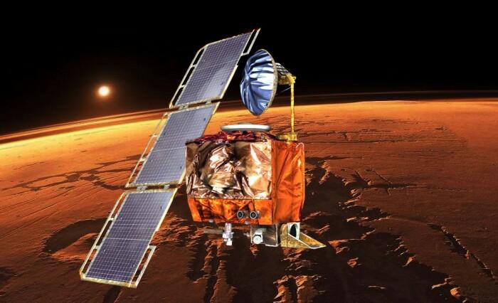 Космический аппарат слишком близко подошел к Марсу и потому разрушился. /Фото: news.cornell.edu