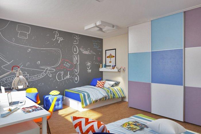 Если никто не запрещает рисовать на стенах, значит родители самые классные в мире. /Фото: inspiralootthonok.cafeblog.hu