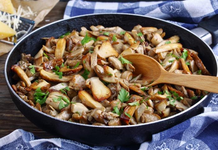 Приготовление грибов не занимает много времени, но дарит неповторимый вкус и сытость. /Фото: olevano.com