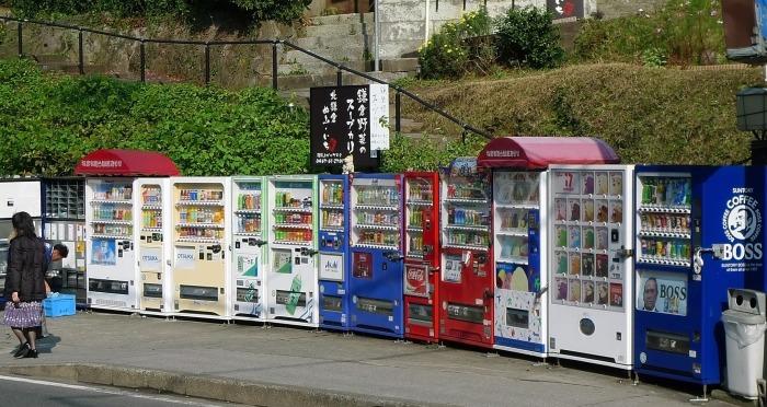 В Японии торговых автоматов действительно много. /Фото: image1.thegioitre.vn