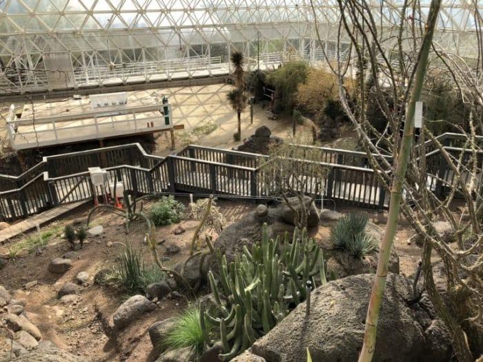 Пустыня в «Биосфере-2». /Фото: blog.trekaroo.com