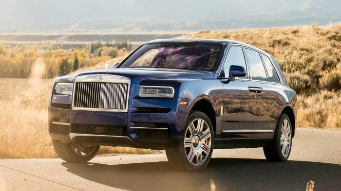 Rolls-Royce Cullinan. /Фото: cdn.motor1.com