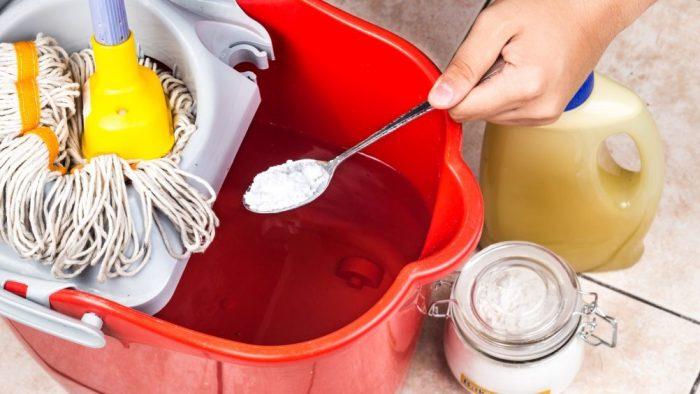 Идеальная чистота вместе с пищевой содой станет более доступной. /Фото: 98fmcuritiba.com.br