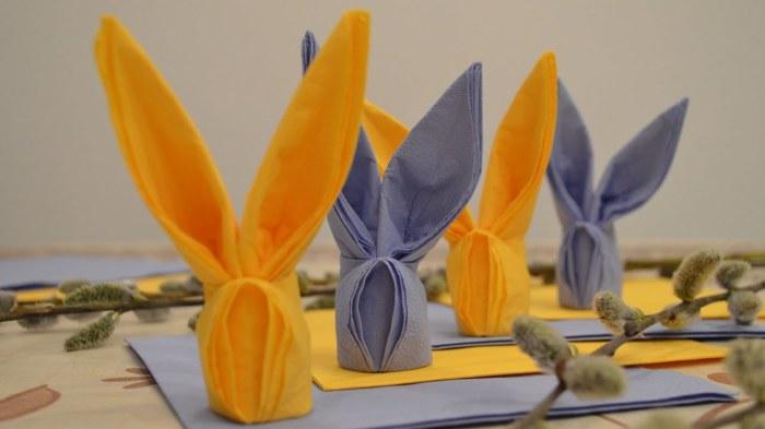 Умилительные формочки маленьких цветных зайчиков сделают праздничную атмосферу по-особенному домашней. /Фото: i.ytimg.com