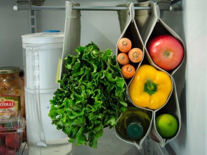 С таким подходом мягкие овощи и ягоды будут в идеальном состоянии. /Фото: cdn.apartmenttherapy.info