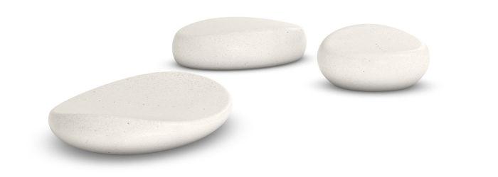 «Умные» камни могут подогревать воду в ванной до оптимальной температуры. /Фото: img.archiexpo.com