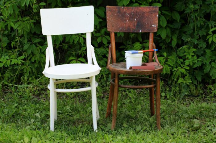 Перед покраской старой мебели, ее сначала нужно обязательно прогрунтовать. /Фото: cdn4.roomble.com