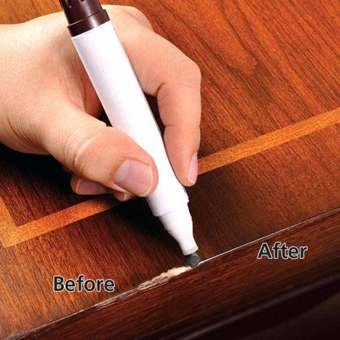 В самых сложных случаях нужно использовать специальный маркер для мебели. /Фото: images-na.ssl-images-amazon.com