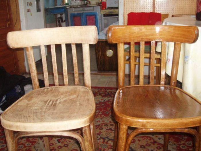 Даже старый и никому ненужный стул можно превратить в полезный предмет интерьера. /Фото: i.pinimg.com