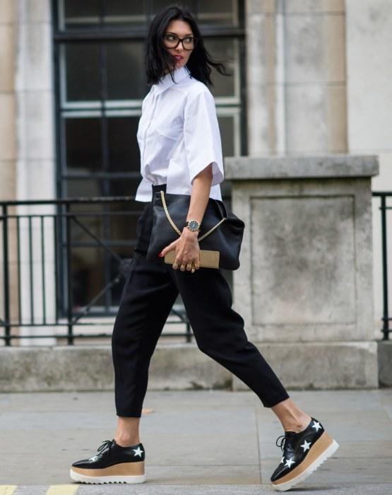 Белая рубашка - это всегда хорошая идея. /Фото: withfashion.net