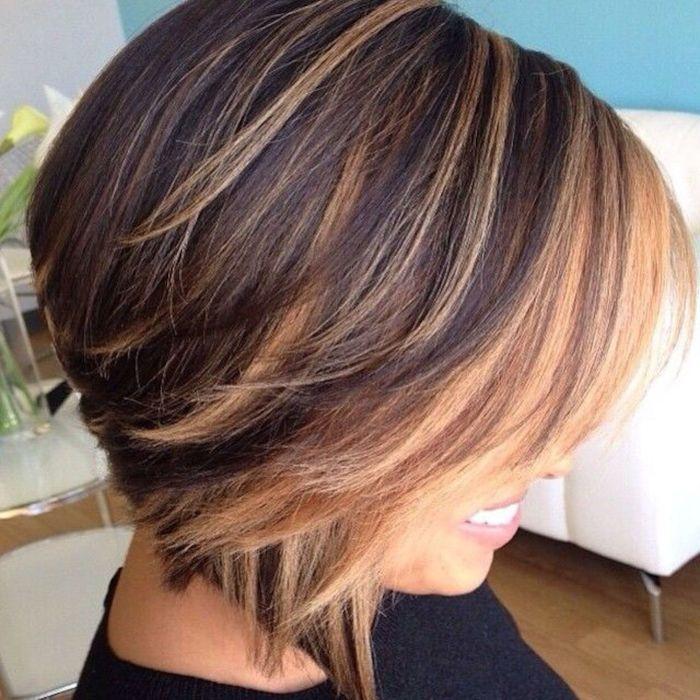Важно не только правильно подобрать стрижку, но и красиво покрасить волосы. /Фотоi.pinimg.com: