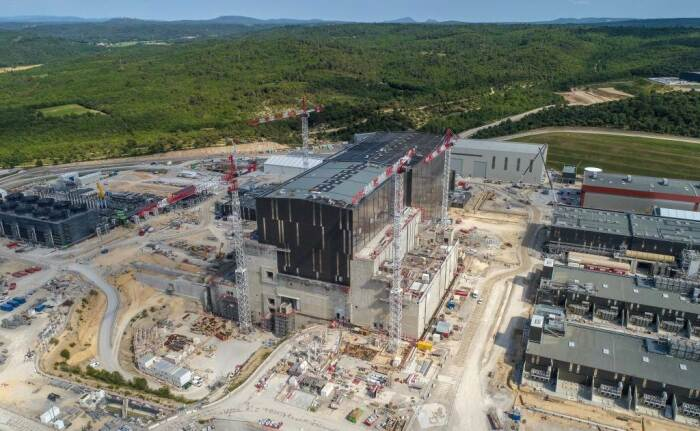 Строительная площадка ITER во Франции. /Фото: iter.org