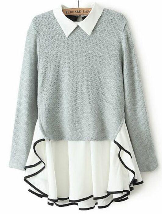 Стильное решение, когда хочется добавить своей одежде воздушности и непринужденности. /Фото: i.pinimg.com