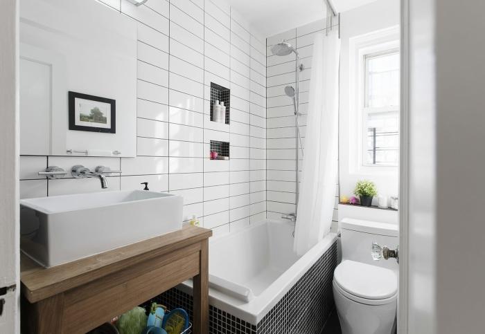 Ванна вместо душевой кабины. /Фото: alanlegum.com