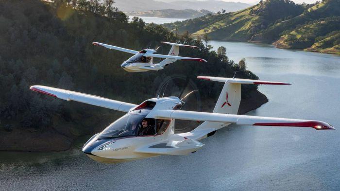 Icon A5 — это гидросамолет, который подарит удивительные ощущения полета. /Фото: i.pinimg.com