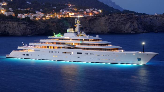 Eclipse – роскошная яхта, на борту которой все сделано на самом высшем уровне. /Фото: robbreportedit.files.wordpress.com