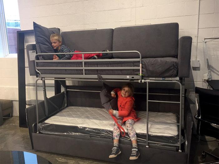 Отличное решение для детской комнаты. /Фото: cityschemes.com