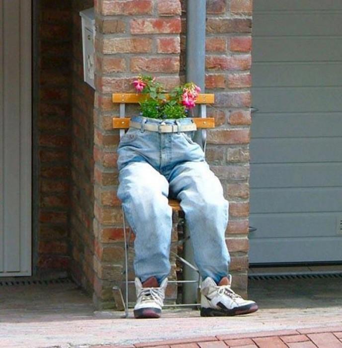 Очень оригинальный способ обновления окружающей обстановки. /Фото: 2.bp.blogspot.com