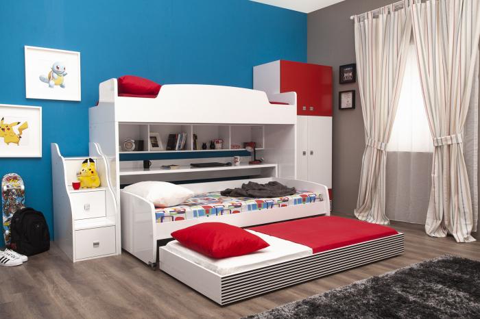Комплект мебели Twin Bunk Set. /Фото: multimo.com