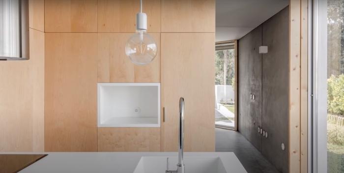 Так выглядит дом внутри: светло и красиво. /Фото: youtube.com