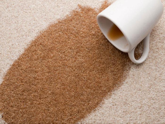 Пятна на ковре нужно высушивать как можно быстрее. /Фото: elgreloo.com