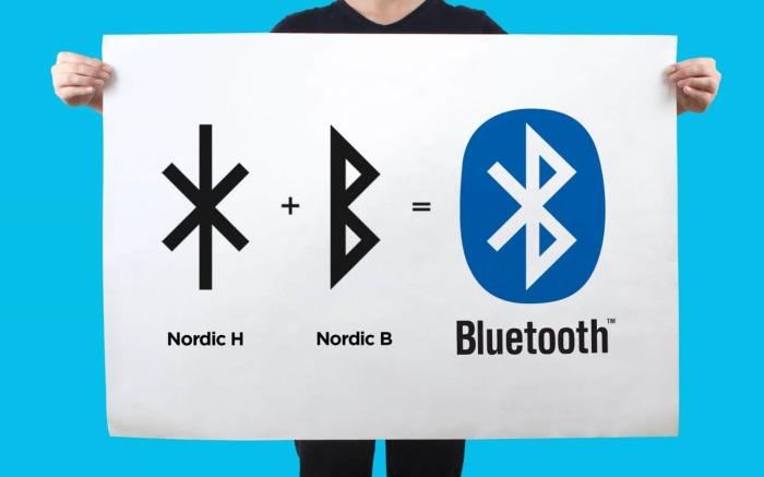 Логотип Bluetooth составлен из двух рун, соответствующим инициалам Харальда Синезубого. /Фото: fabrikbrands.com