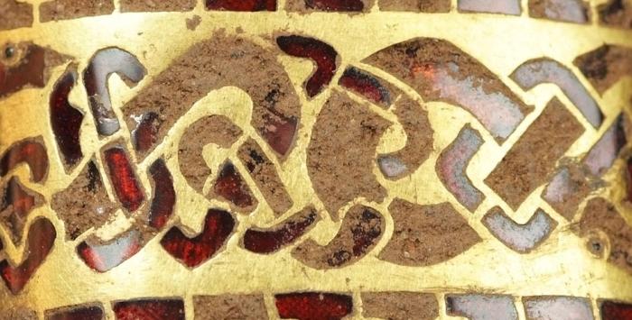 Стаффордширский крепеж рукоять. /Фото: readdurhamenglish.files.wordpress.com