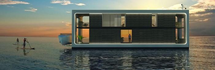Оригинальный дом для тех, кто любит воду. /Фото: propholic.com