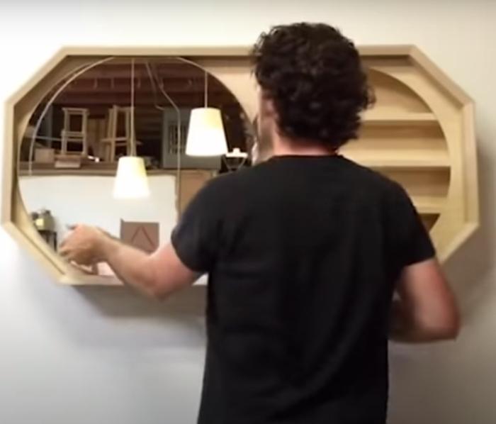 Красивое решение для любой комнаты. /Фото: youtube.com