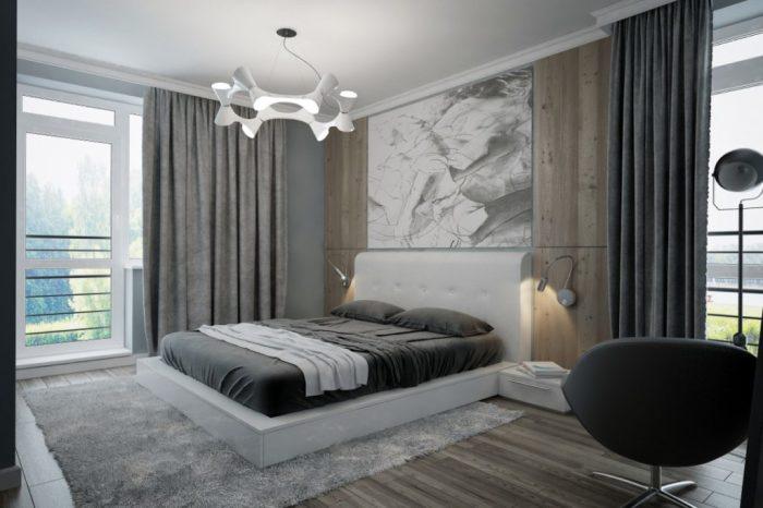 Спальня в стиле модерн. /Фото: build.4-u.info